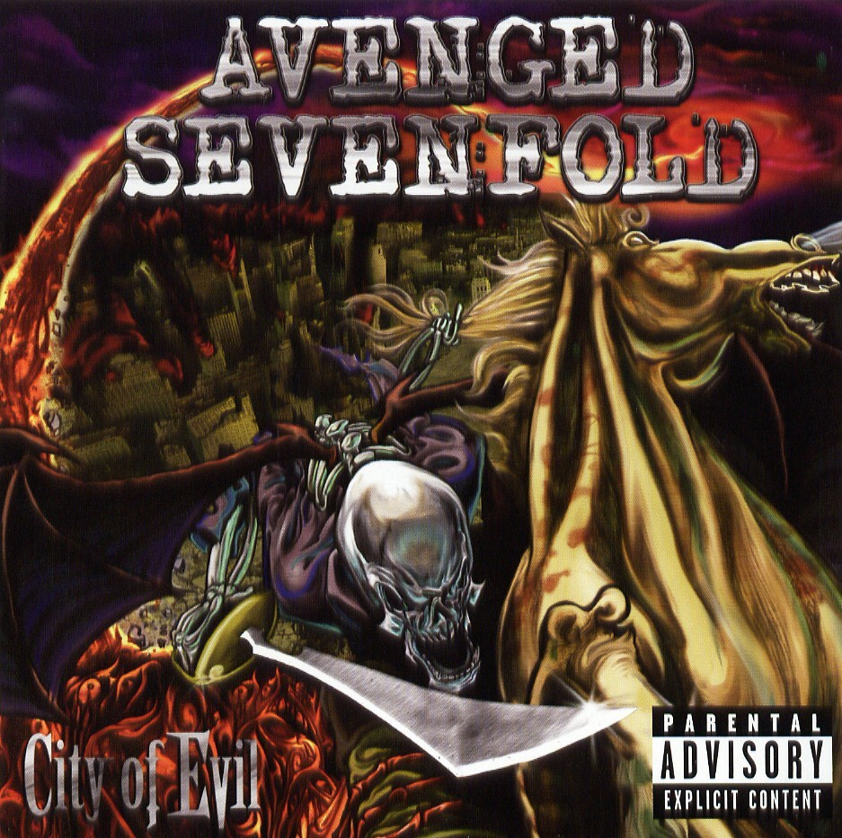 Avenged Sevenfold - City of Evil (Guitar Recorded Versions) Avenged Sevenfold
