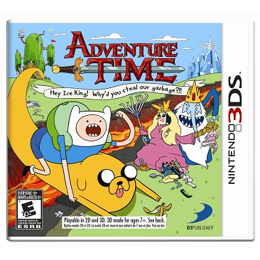 ADVENTURE TIME: FOR NINTENDO 3DS - EXCLUSIVO DE ANTIQUE-TOYS - EL MEJOR JUEGO DE NINTENDO 3DS!