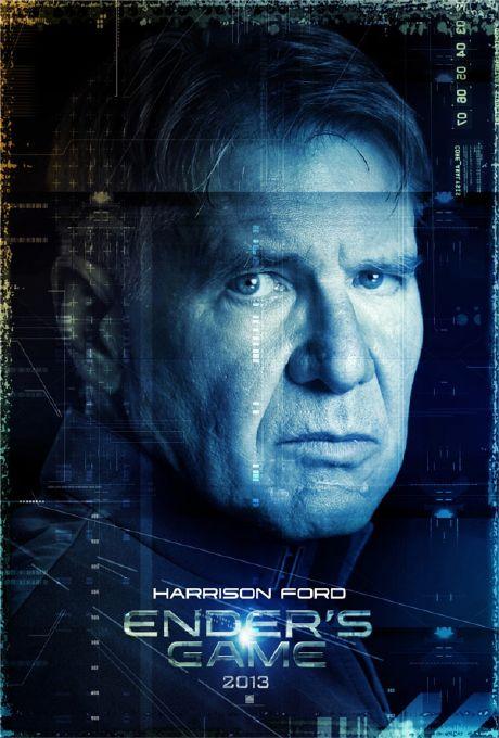 El Juego de Ender - Harrison Ford (Coronel Hyrum Graff)