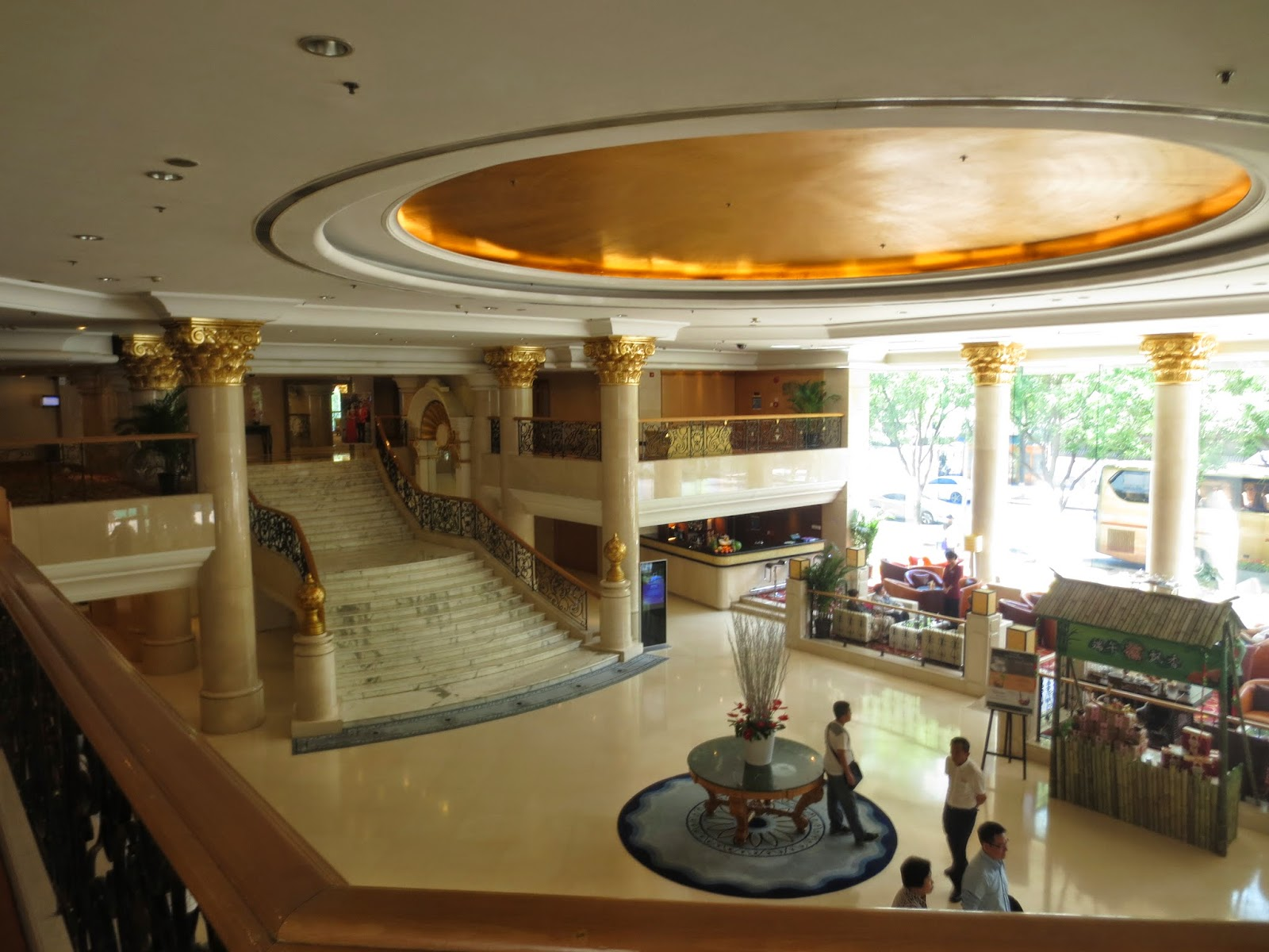 Novotel Beijing Peace Hotel Lobby