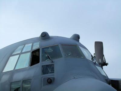 C-130H cockpit photo