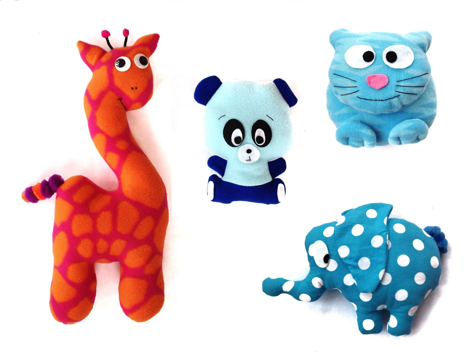 plush animal sewing patterns