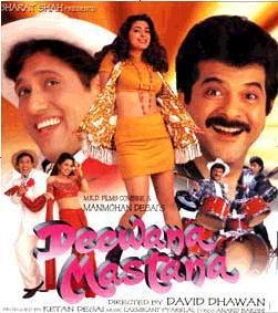 Deewana Mastana (1997) DVD