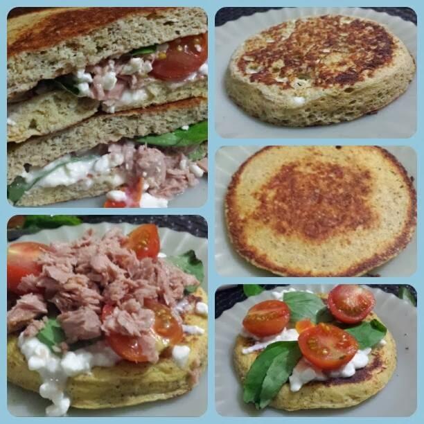 Pão de Microondas Dukan low carb