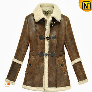 women sheepskin jacket