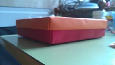 DIY caja origami