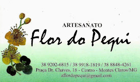 ARTESANATO - FLOR DO PEQUI