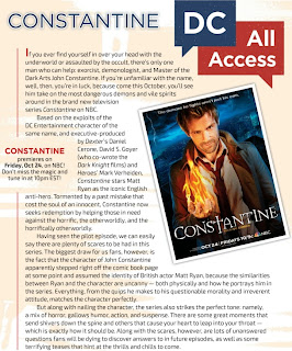 DC All Access Constantine Special