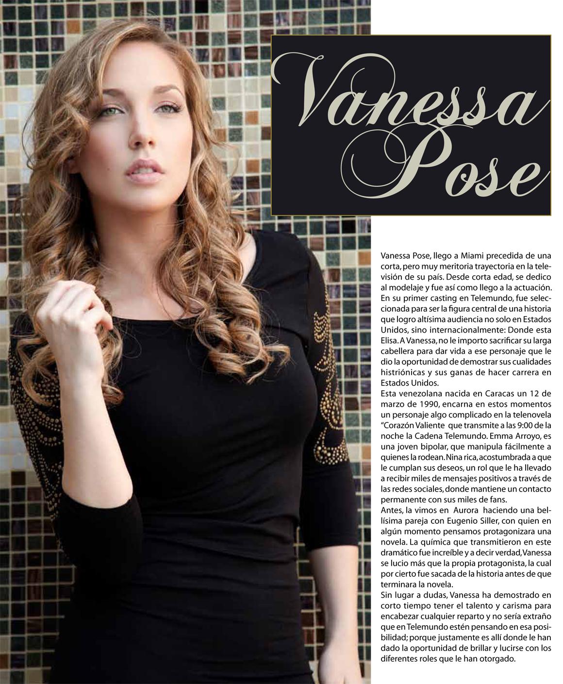 Vanessa Pose Vanessa p...