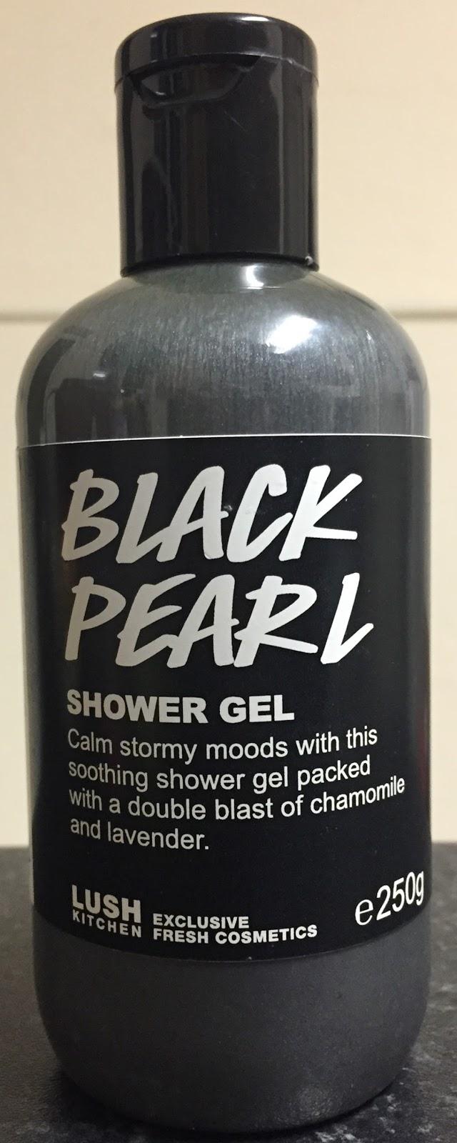 Charmant Black Pearl Shower Gel