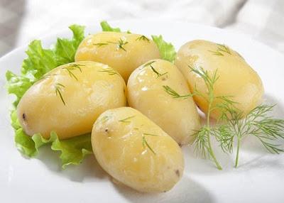 kentang rebus