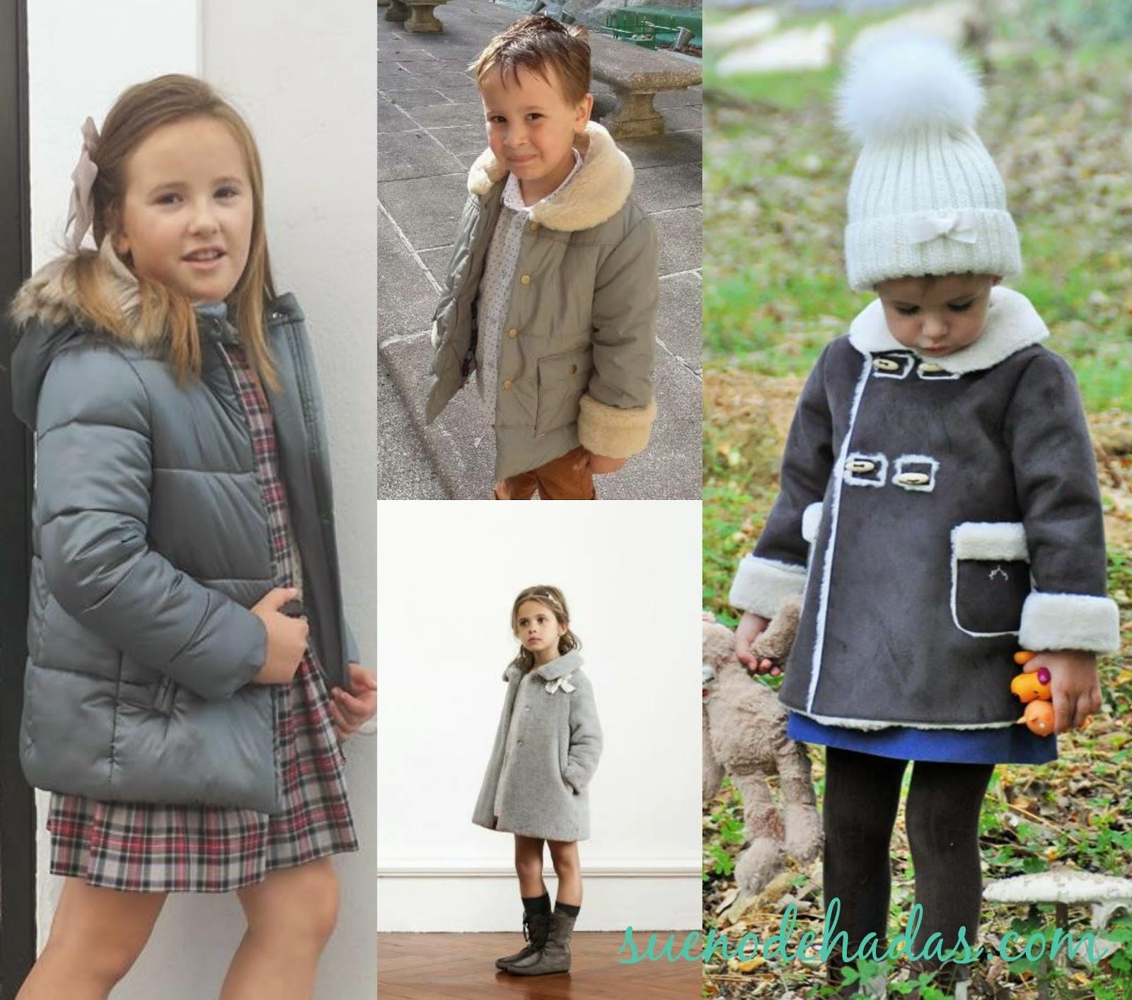 Nanos moda infantil - ropa de abrigo