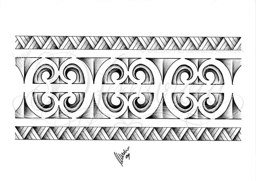 maori tattoo bracelete