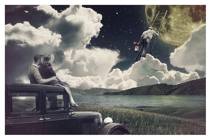 Mira Ruido (Joseba Elorza). Collage