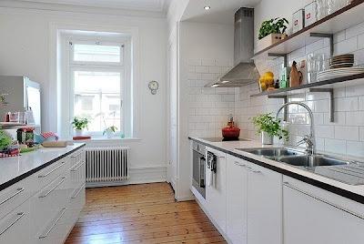 dapur cantik12 30 Ide Desain Dapur yang Cantik dan Menarik