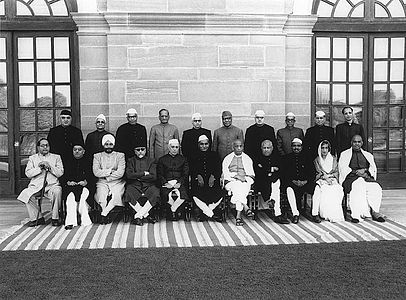 First-Cabinet-of-independent-india