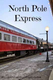 Take a ride on the North Pole Express at the Heber Valley Railroad - 101 Things to do in Utah this Holiday Season