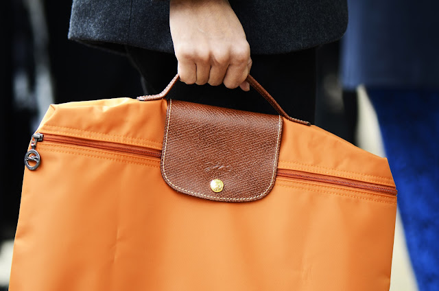 Orange Tote, menswear accessories at LFW SS13