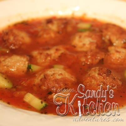 Mama Mia Meatball Soup | Sandy\'s Kitchen