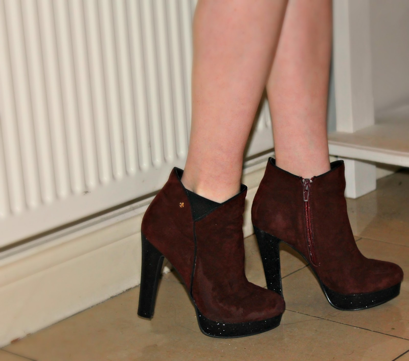 valentines ankle boots