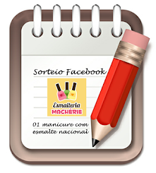 Sorteio Machérie no Facebook