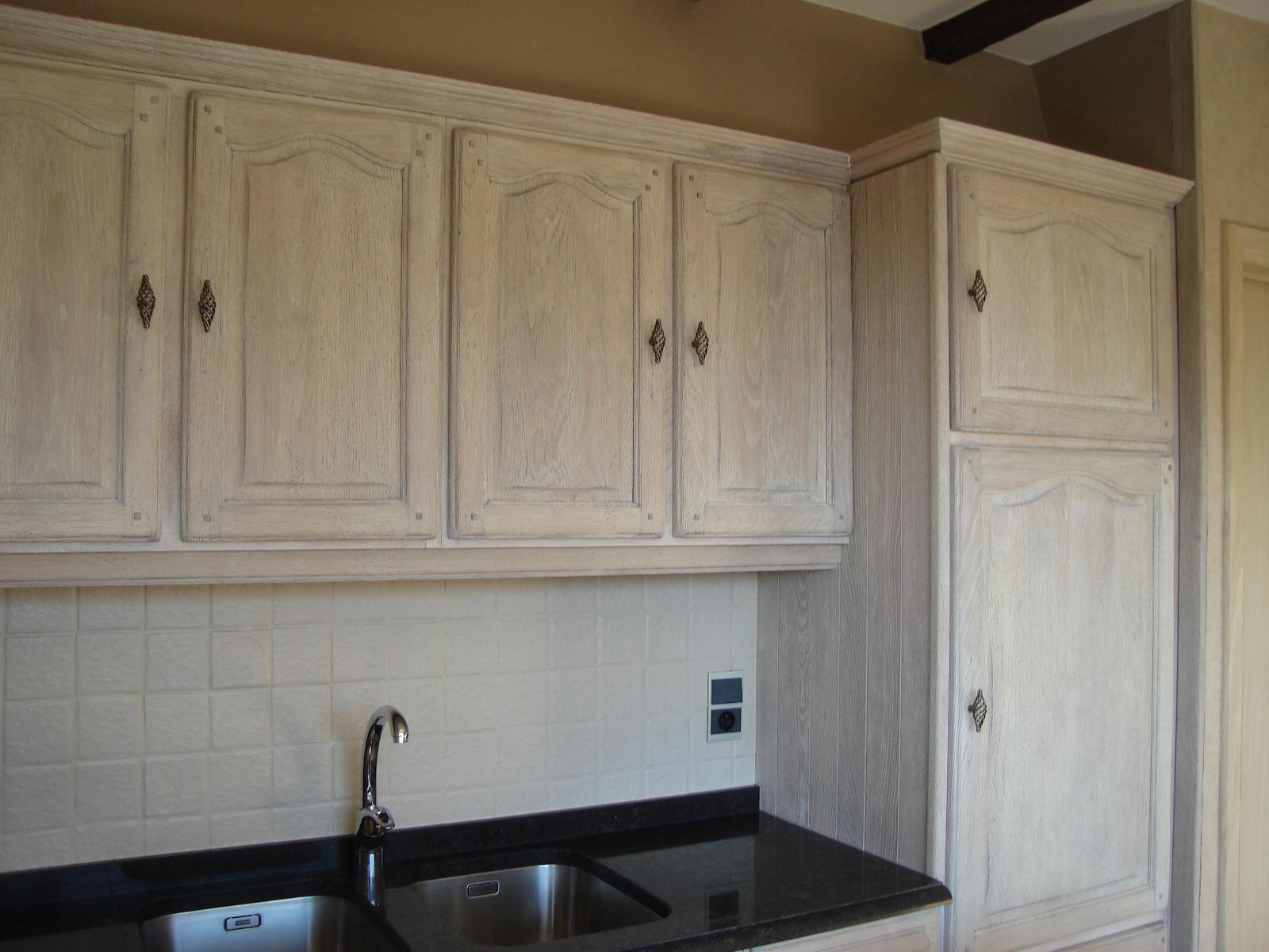 Werkblad Keuken Gamma : , zandstralen, beitsen, vernissen van keukens Meubelrenovatie