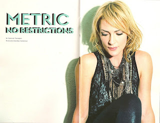 metric music band