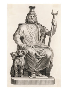 hades and his watchdog cerberus in greek mythology