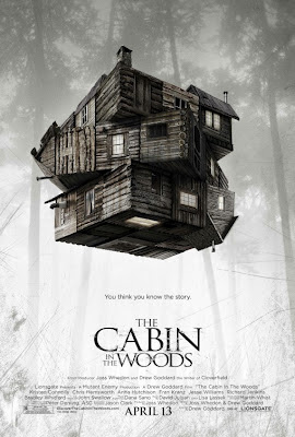 cabin in the woods, poster, whedon, goddard