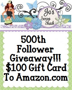 Jo's Scrap Shack 500 Follower Give-Away