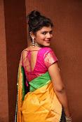 Sangeetha Kamath dazzling saree photos-thumbnail-1
