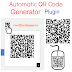 Automatic QR Code Generator Plugin for Blogger with Customisations