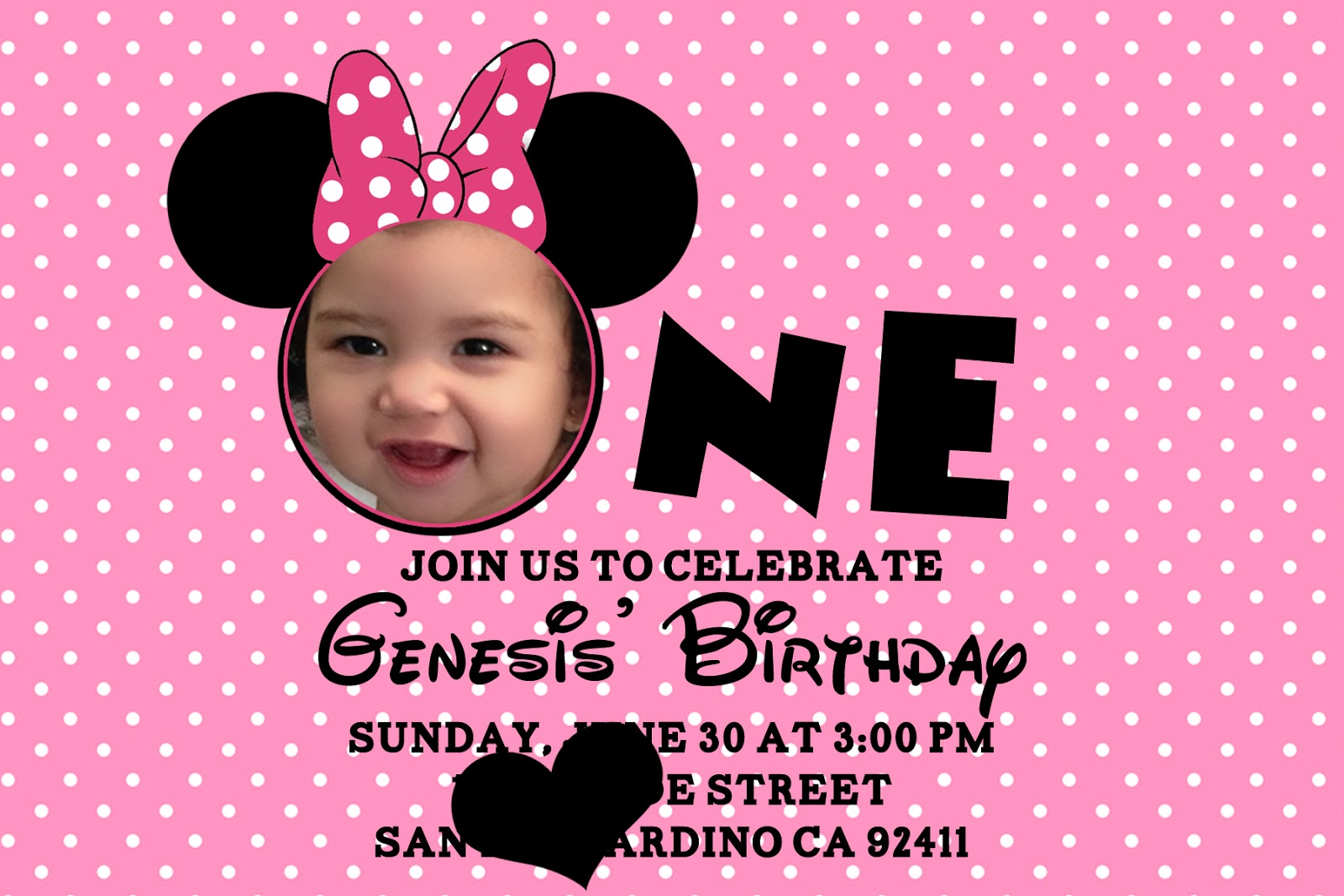 Mickey Birthday Invitations Free was great invitations design