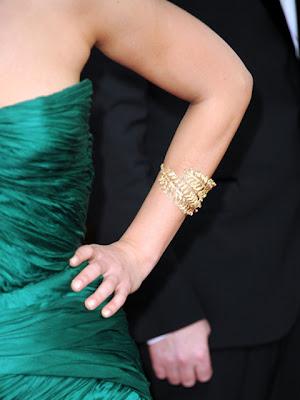 Mila Kunis Gold Bracelet