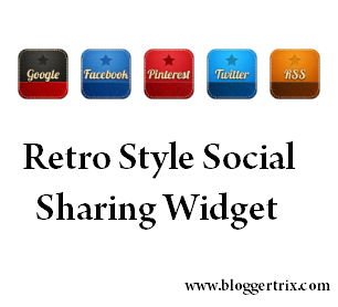 Retro+Style+Social+Sharing+Widget+For+Blogger