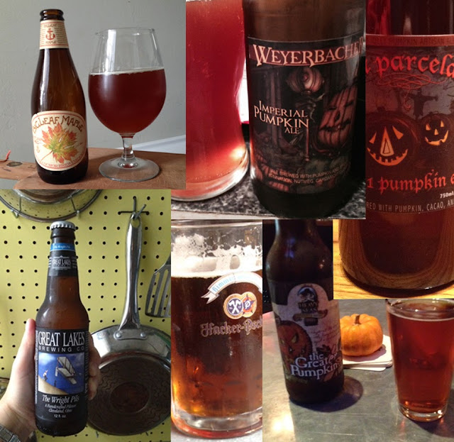 Fall Beer Dump | Beer Collage 2013