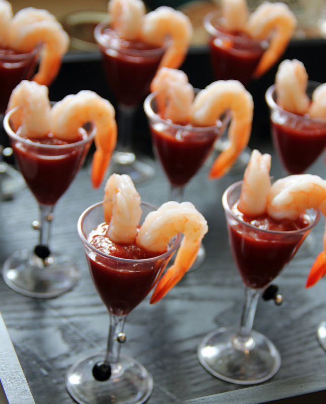 Jo and sue kenzie 39 s sweet 16 for Mini prawn cocktail canape
