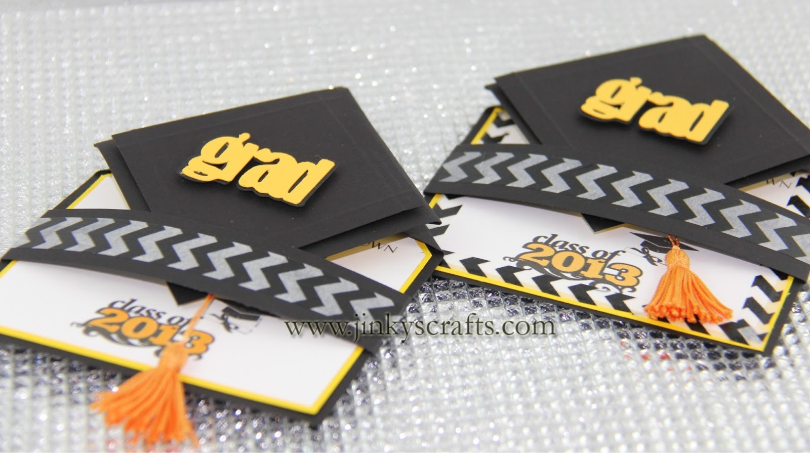 3D Graduation Cap PopUp Invitations Jinkys Crafts