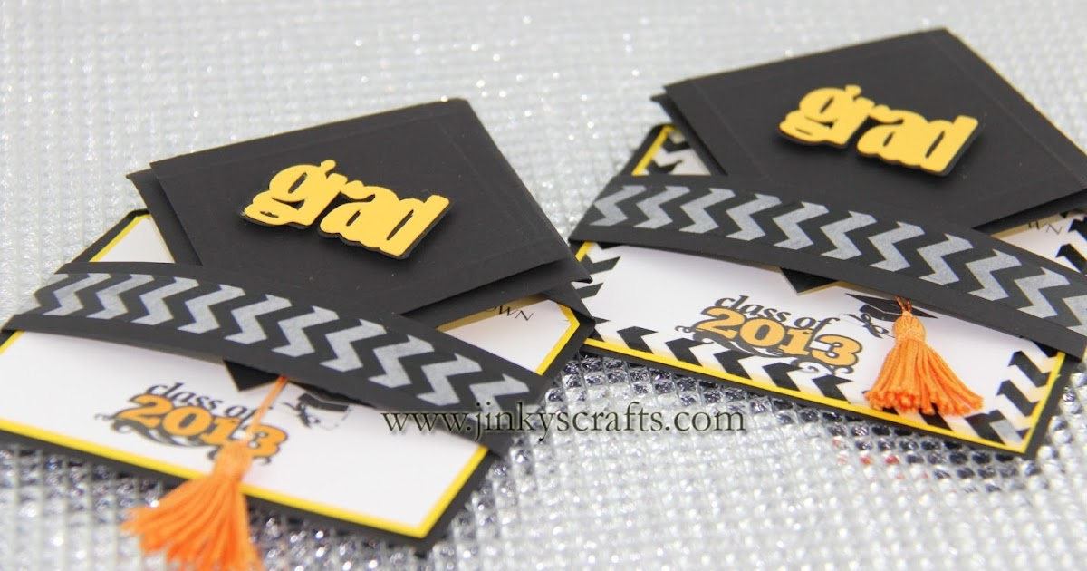 Jinkys Crafts Amp Designs 3D Graduation Cap Pop Up Invitations