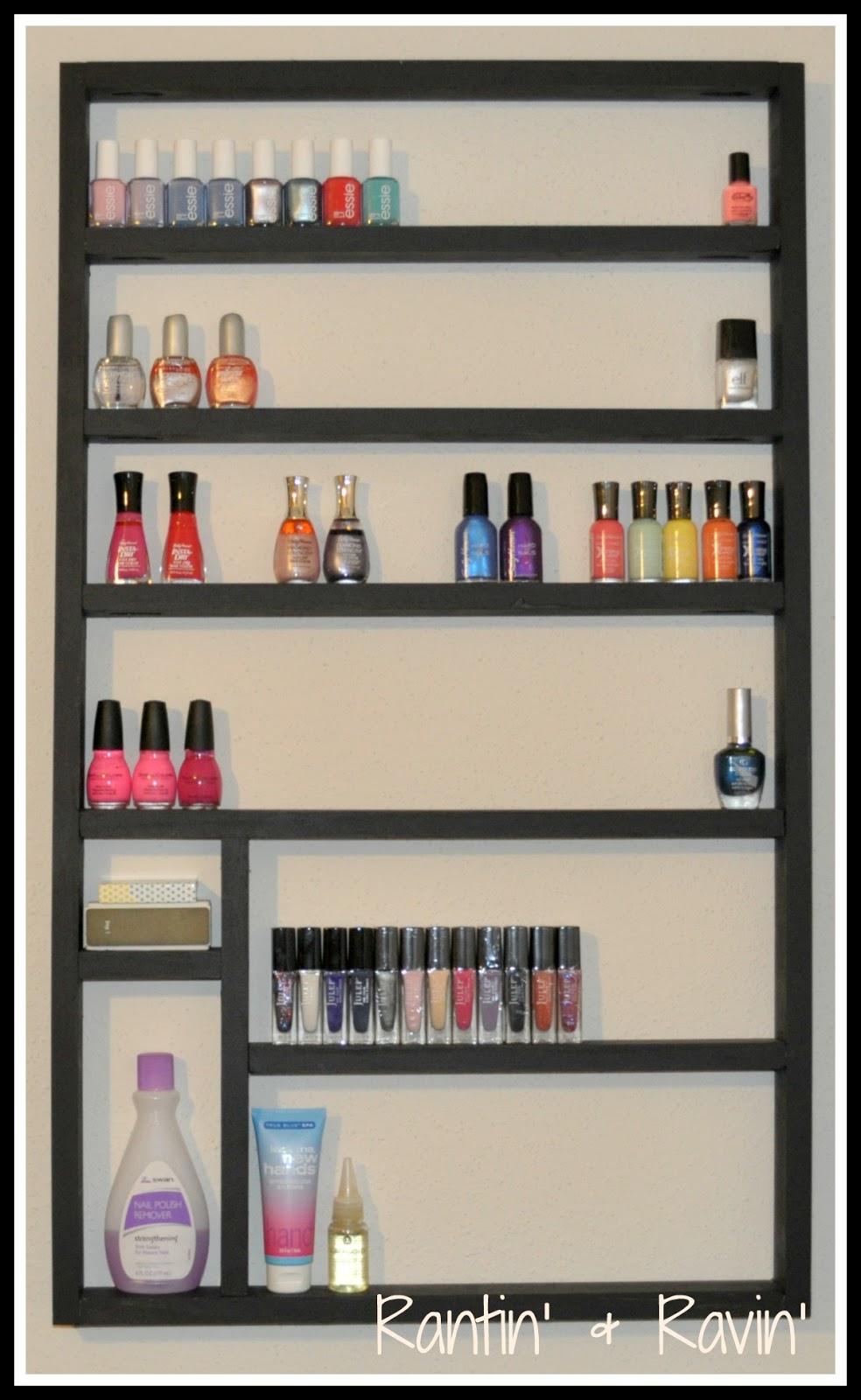 rantin 39 ravin 39 organize my nail polish. Black Bedroom Furniture Sets. Home Design Ideas