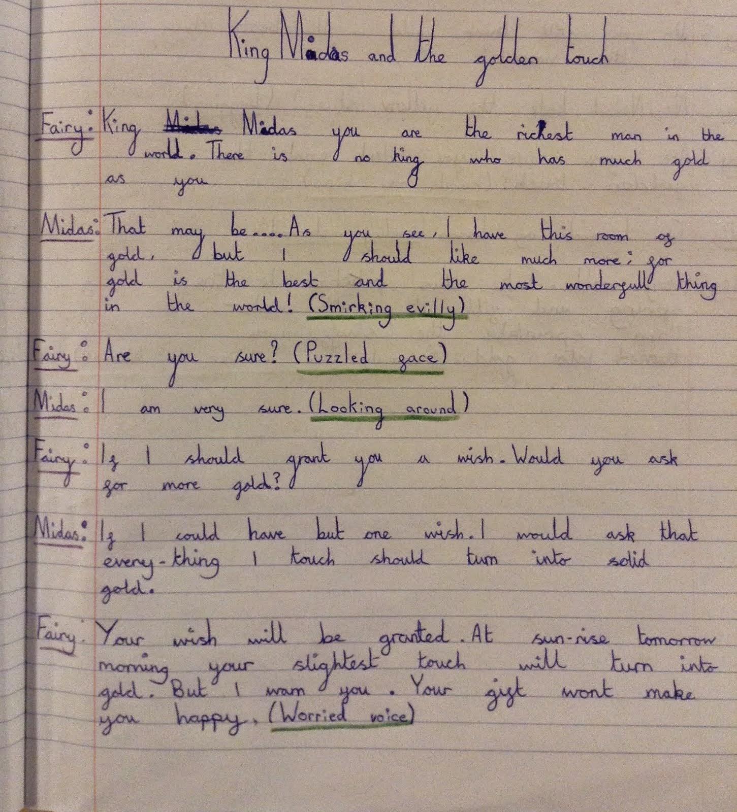drama script writing
