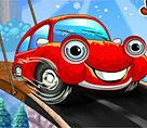 Kırmızı araba ile yolculuk oyunu
