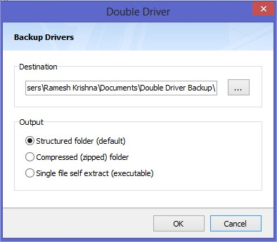 Double-Driver-Backup