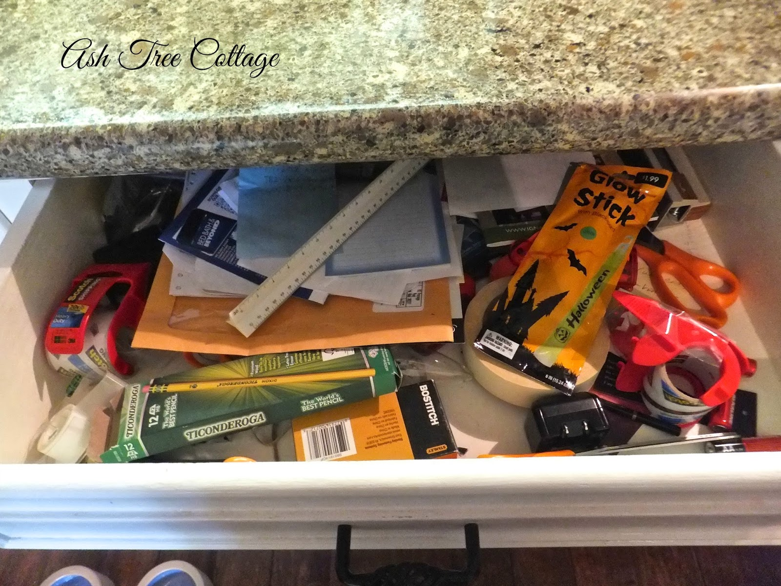 Ash tree cottage the kitchen junk drawer and what to do for Kitchen junk drawer