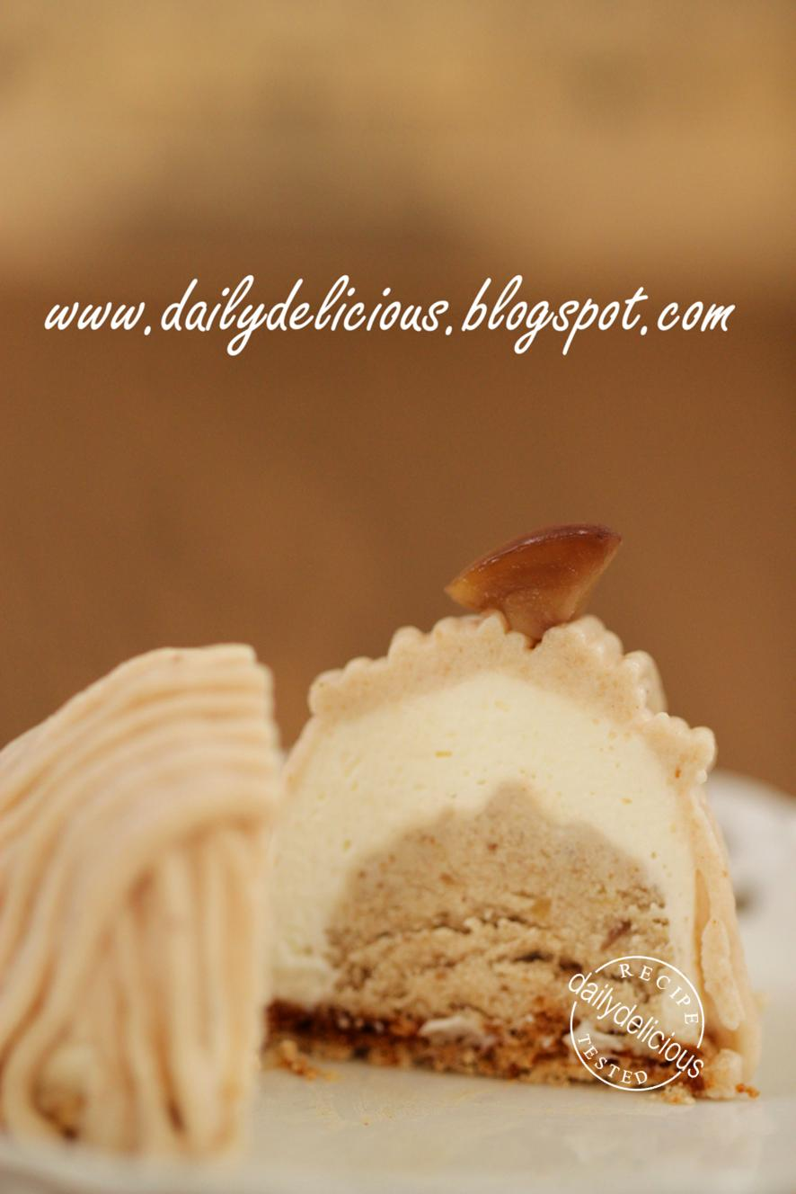 Dailydelicious mont blanc sweet chestnut desserts for Mont blanc recipe