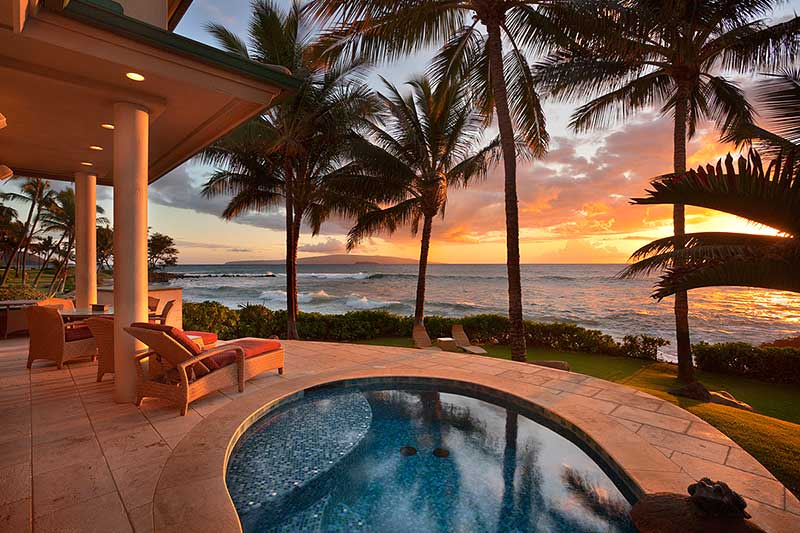 Maui oceanfront homes for sale for Hawaii luxury homes for sale