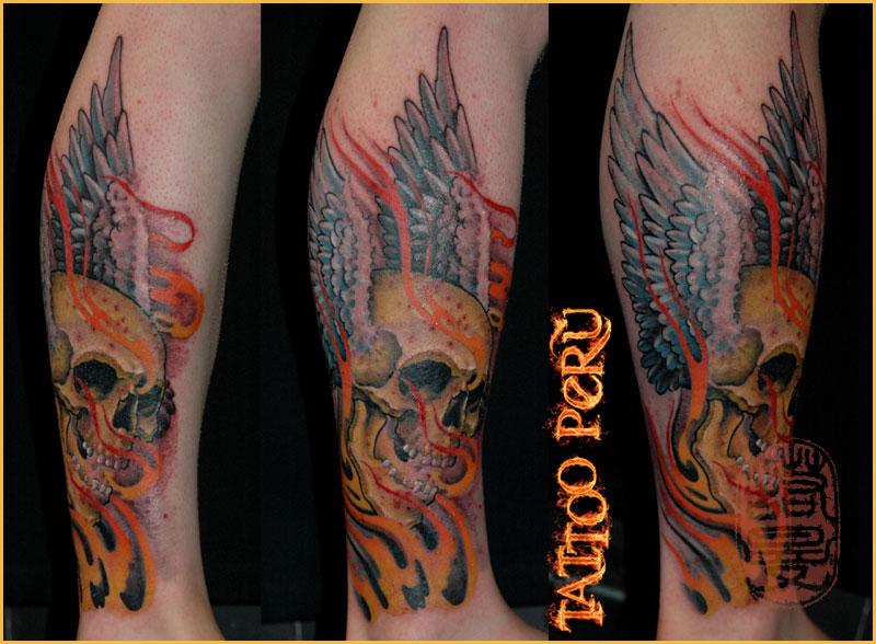¿En que parte del Cuerpo se puede Tatuar?. 01_calavera_con_alas