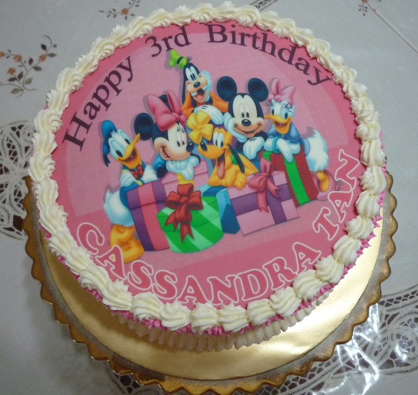 Gg Home Biz Cakes Wedding Cakes Mickey Mouse Birthday Cake For Mr