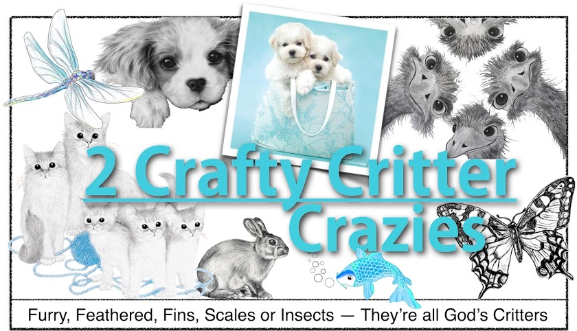 2 Crafty Critter Crazies Challenge
