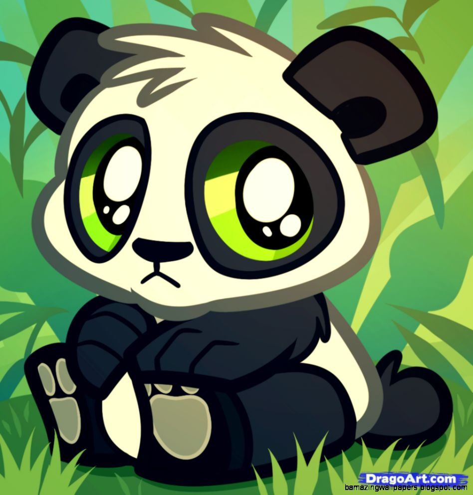 Cartoon Baby Pandas To Draw   Top Images